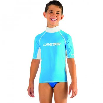 Cressi Rash Guard Junior Boy Kısa Kollu T-Shirt