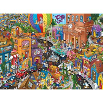 KS World In A Hurry 200 Parça Puzzle