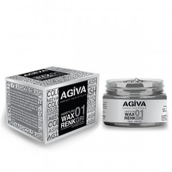 Agiva Color Wax Saç Renklendirici Gri 120 ml